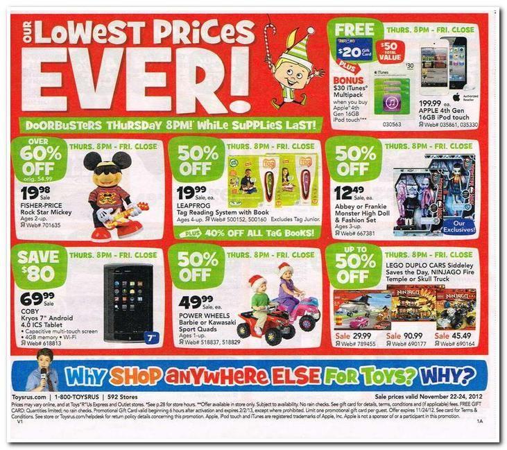 Toys R Us Black Friday Ad Blackfriday Black Friday Ads Black Friday Deals Black Friday