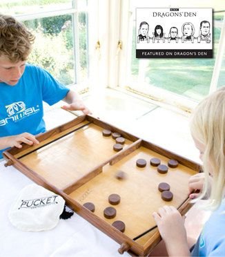 Pucket The Frantic Board Game