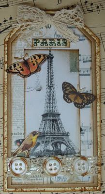 Carocards: tag art/labels. Lots of pretty card and tag ideas on this page