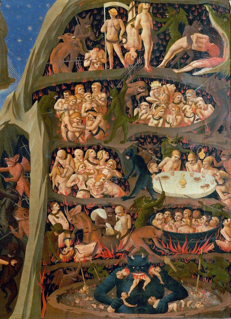 Le Jugement Dernier -détail- (1431-1435) Fra Angelico (basilique San Marco, Florence)