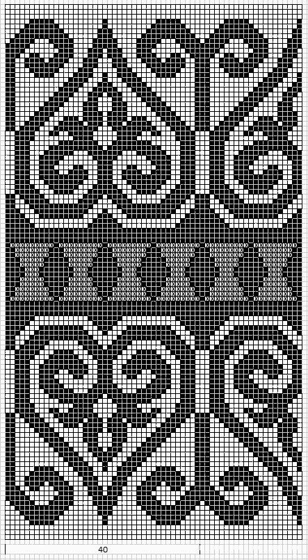 Some lovely charted patterns - Mustrilaegas: AA Kirjatud kudumid / Patterned knits