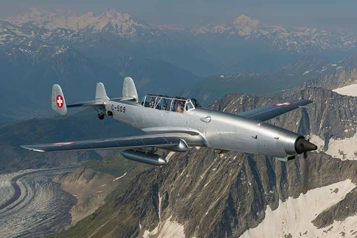 Swiss Air Force F W C 3605 Schlepp Target Towing