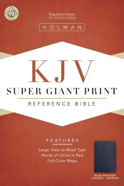 The Holy Bible: King James Version, Indexed, Imitation Leather