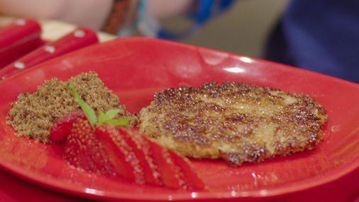 Recepten - Havermoutpannenkoek met banaan en fruityoghurt
