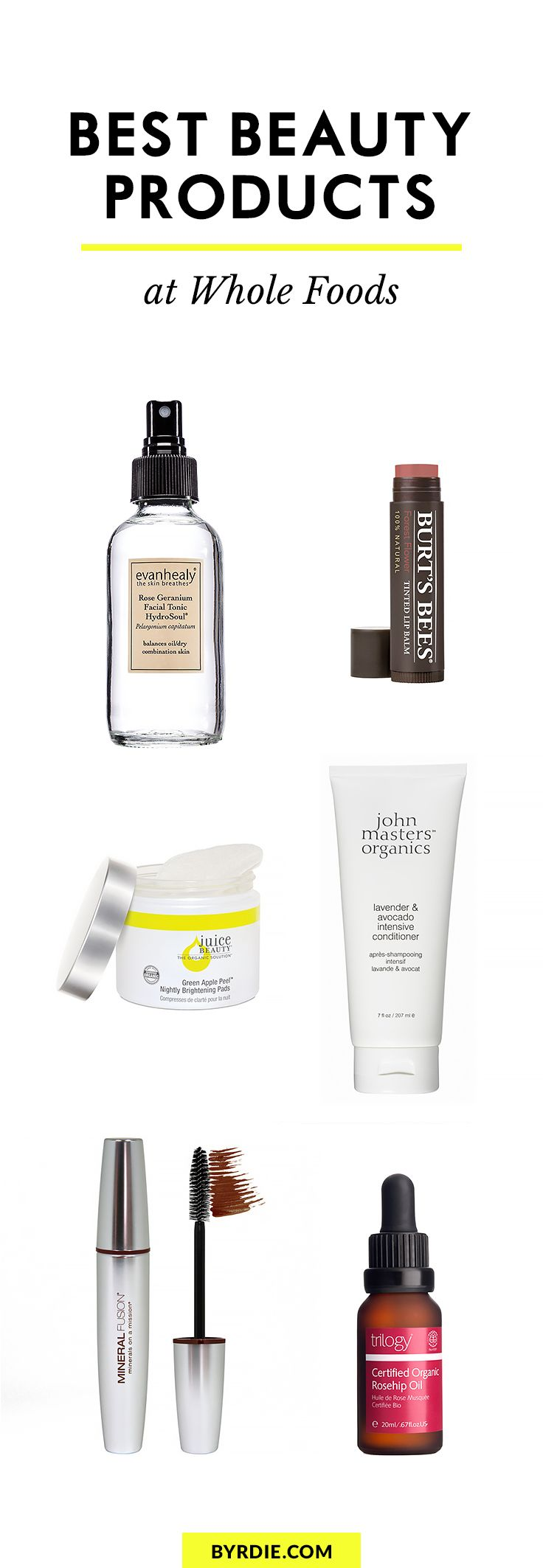 The best beauty products at Whole Foods