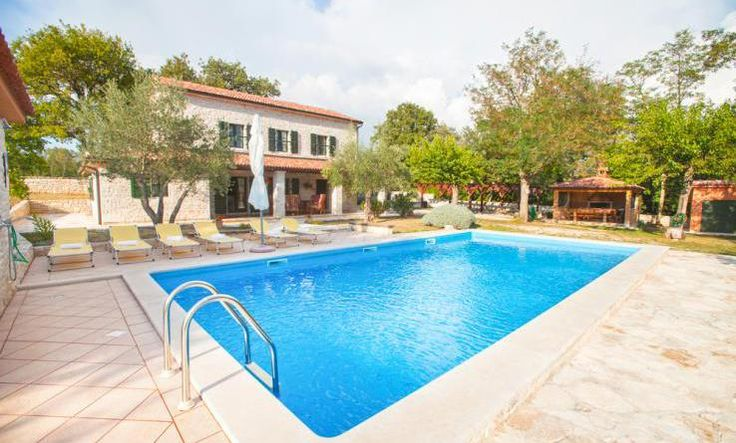 Villa Anika is lovely holiday home with private swimming pool, found just outside the village of Radici, near Sventi Lovrec in Istria. Surrounded by some of the most beautiful countryside that Croatia has to offer. Refurbished in recent years to