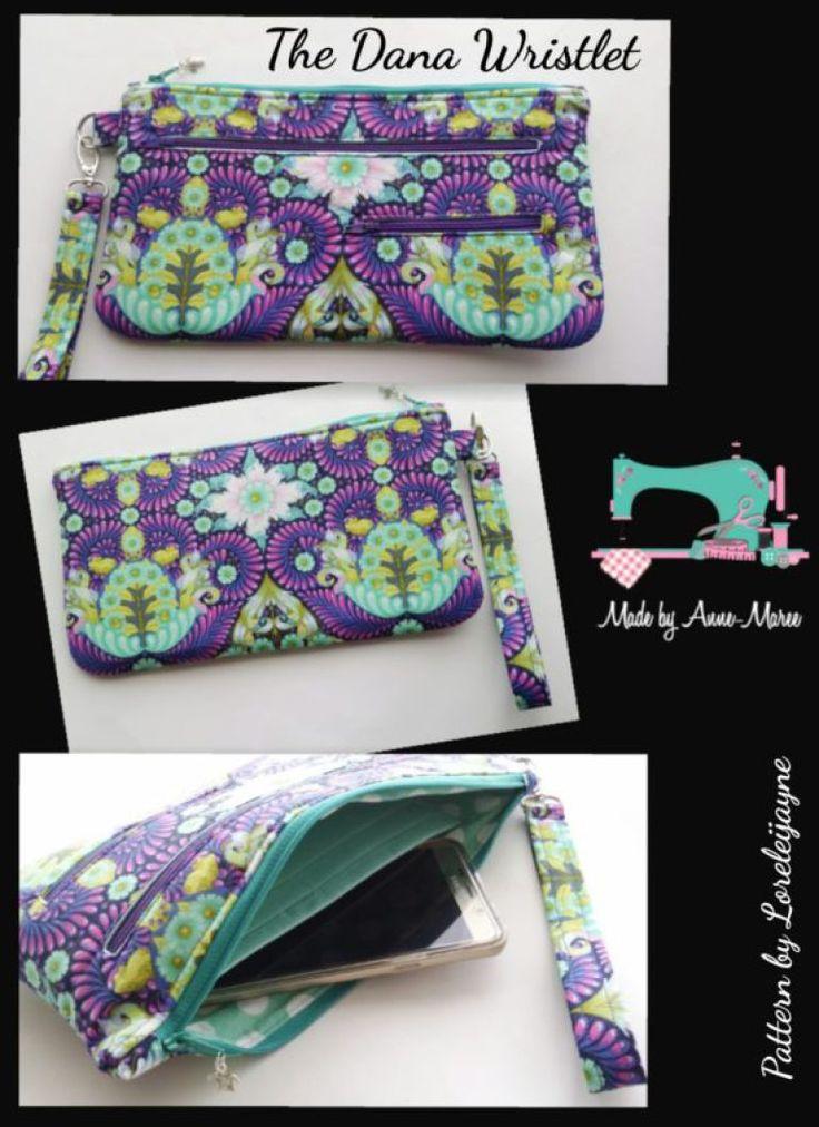 Dana Bag and Wristlet Pattern Release - Lorelei Jayne