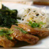 Bistecche di soia marinate alla griglia
