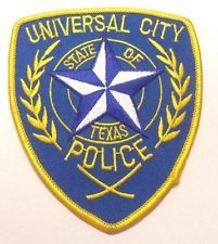 UNIVERSAL CITY TEXAS POLICE PATCH