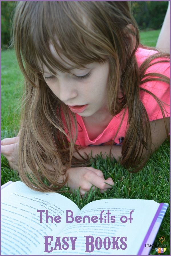 the benefits of reading too easy books -- and why you should let your kids do it!