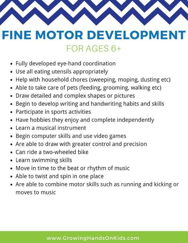 25 Fine Motor Activities for Older Kids (Ages 6+) Fine motor