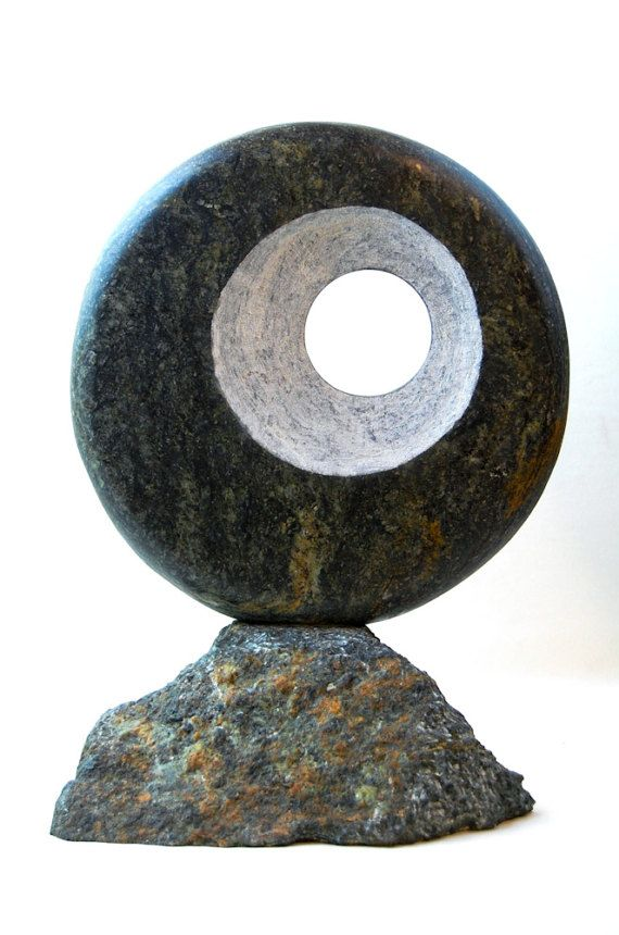 Abstract soapstone sculpture stone sculpture gifts by WildAboutYou