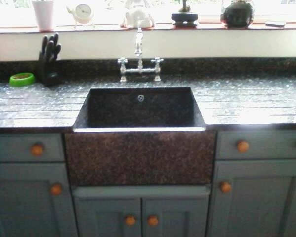 Natural Stone Kitchen Sinks : 17 best images about cool natural stone kitchen sinks in granite