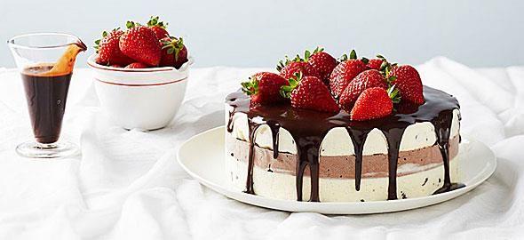 Αν θέλετε πραγματικά να τους θαμπώσετε με τις ζαχαροπλαστικές σας ικανότητες δείτε πώς θα φτιάξετε αυτές τις απίθανες τούρτες παγωτό.