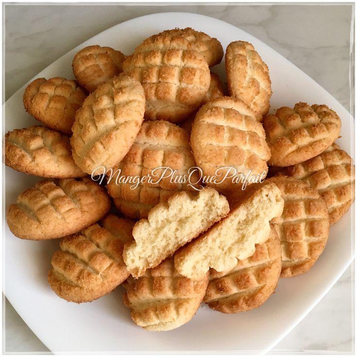 Sablés à la noix de coco – mangerplusqueparfait