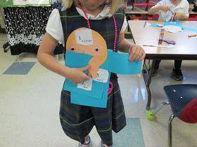 Love Those Kinders!: Catholic Sign of the Cross Prayer Buddy craft