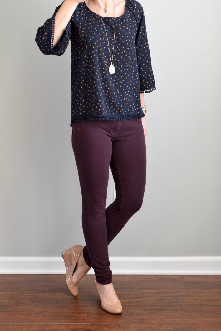 Best 25+ Plum pants outfit ideas on Pinterest | Plum pants Purple fall outfits and How to wear ...