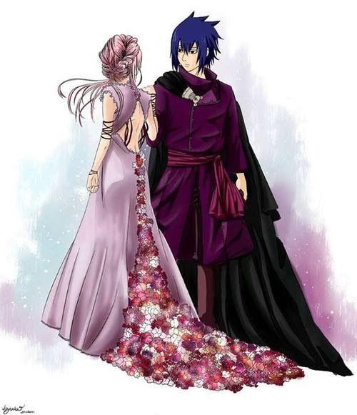 Sasusaku Ball Room Clothes Aka Hades And Persephone