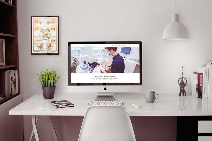 Design og utvikling av mobilvennlige nettsider for Tønsberg Tannhelse. Se mer her: http://www.norgesdesign.no/Mobilvennlige-nettsider-Tonsberg-Tannhelse #webdesign #web #responsiv #mobilvennlig #responsiveweb #webdevelopment #design #norgesdesign #tannlege #dental