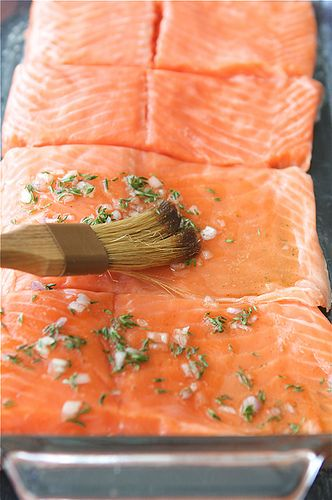 Baked Trout (or Salmon) with Honey-Thyme Glaze | Recipe