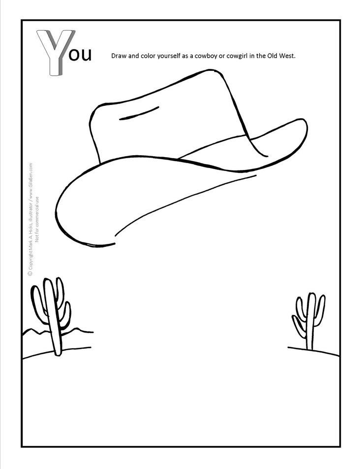 Arizona You Coloring Page