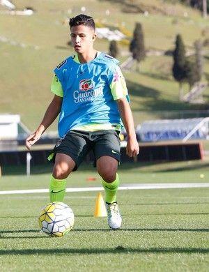 Rondoniense atua no Atlético Mineiro sub-17 (Foto: Hélio Júnior/ arquivo pessoal)