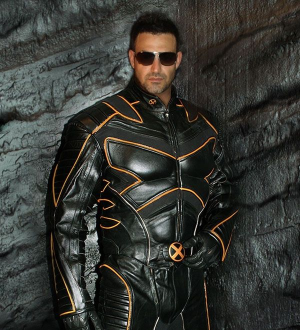X-Men Wolverine Motorcycle Suit