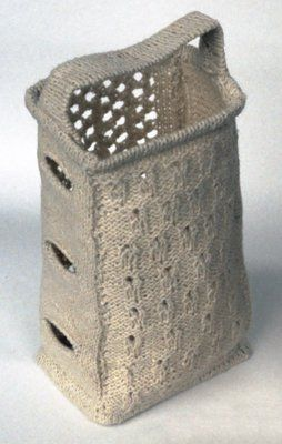 knitted cheese grater