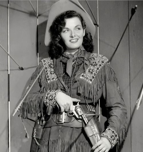 Jane Russell. The Paleface (1948).