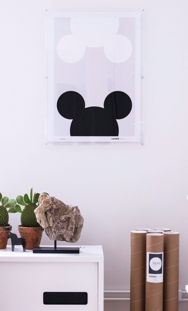 Mouse poster Cooee design Cooee.se