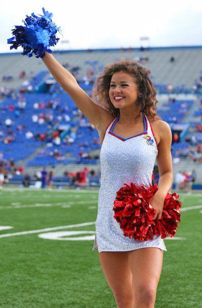 Cheerleaders from College Football's Week 6