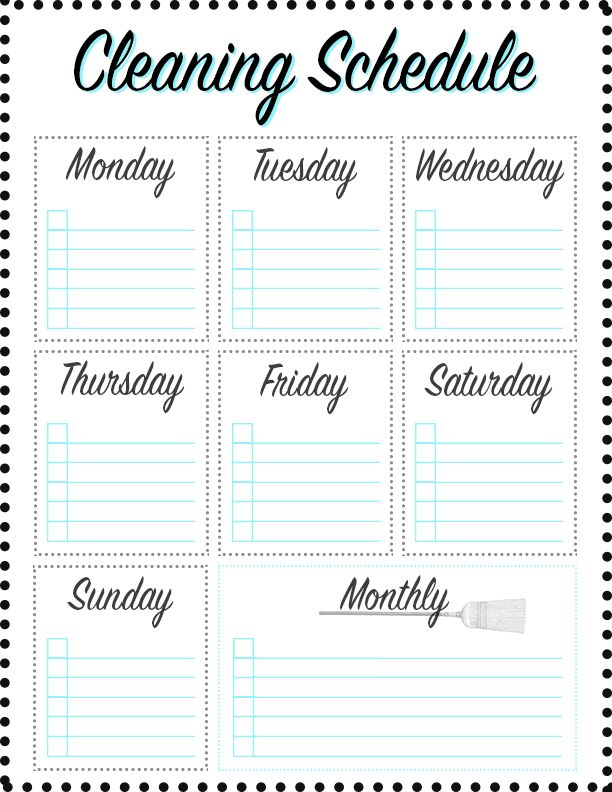FREE PRINTABLES To Stay De-Cluttered – Rachel Talbott