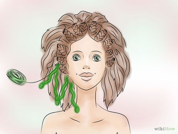 Make a Medusa Costume - wikiHow