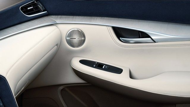 2019 Infiniti Qx50 Infiniti Luxury Crossover Interior Passenger Bose Speaker Luxury Crossovers Infiniti Usa Automotive Photography