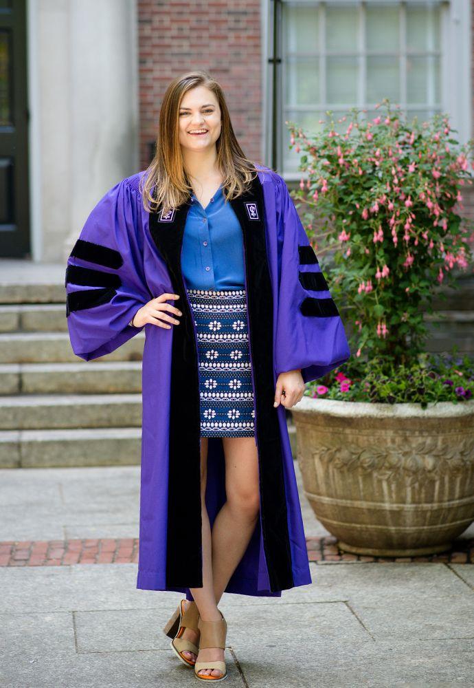 My Power Outfit: Caroline Odorski, New Grad from NYU Law School