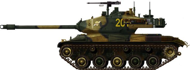 Chilean M41A3