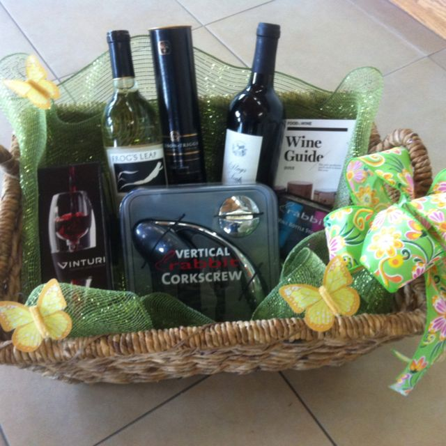 17 best images about tricky tray ideas on pinterest for Best wine gift ideas