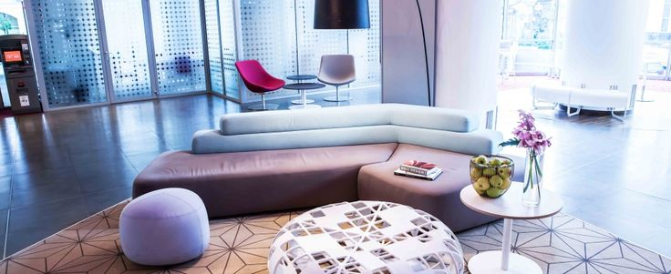 Hotel Novotel Bucharest-lobby interior design project-completed