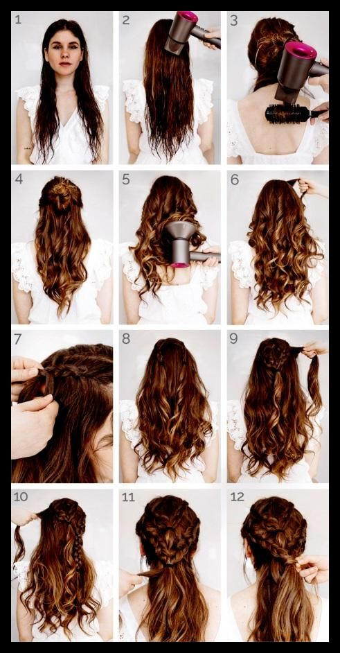 Genial Von Einfache Frisuren Lange Haare Flechten 1001 Inspirierende Schon Frisur Lange Haare Locken Geflochtene Frisuren Frisuren Lange Haare Geflochten
