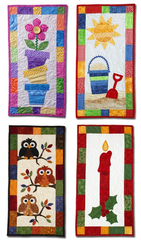 Best 25+ Quilted wall hangings ideas on Pinterest   Mini quilts ... : quilted wall hangings - Adamdwight.com