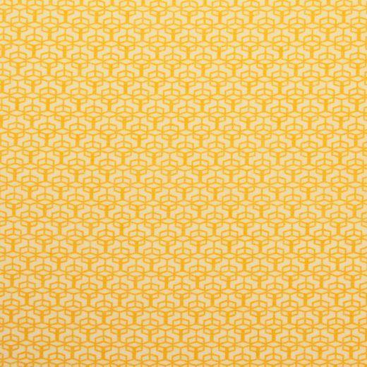Colored windows cotone giallo tessuto giallo disegno geometrico Soft Cactus…