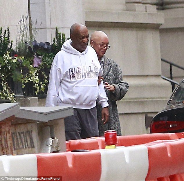 Bill Cosby and his wife Camille were spotted together leaving their New York City townhouse for the first time in over a year