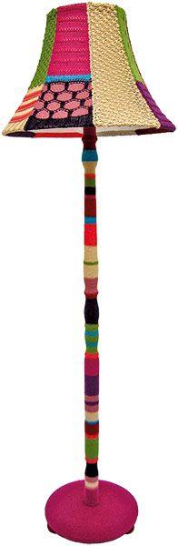 Lamp tagging #lamp #craft #knitting