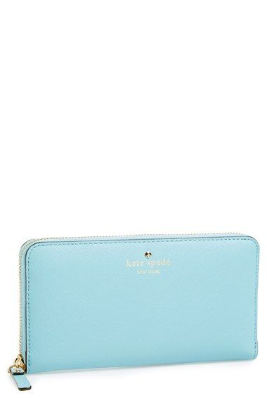 I don't expect you to dish out this kind of money, but I'm in dire need of a new wallet and the Kate Spade Lacey style is my ideal set up.