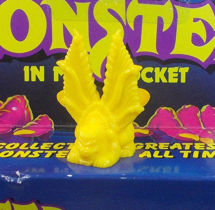 Monster in my Pocket - Series 1 - 20 Catoblepas - Yellow - Premium - MEG