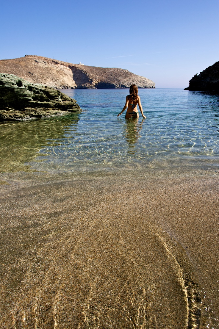 Achla beach, Andros Isl, Greece