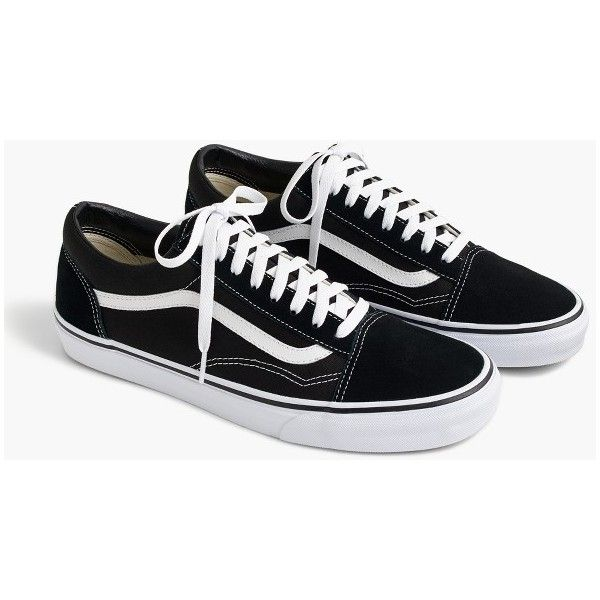 J.Crew Vans® Old Skool sneakers in black ($60) </p>