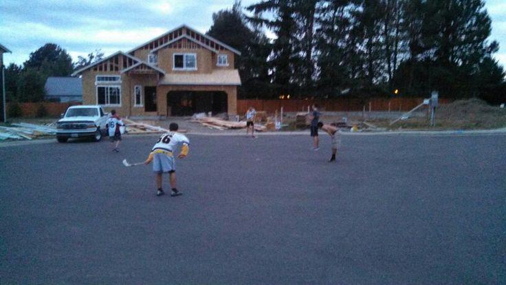 Street hockey Blazers