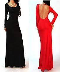 Afbeeldingsresultaat voor maxi dress met lange mouwen