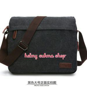 tas selempang laptop kanvas mugu 8546M hitam (tas selempang,tas laptop,tas kerja,tas sekolah,tas kuliah,tas santai,tas kanvas,tas pria/wanita)